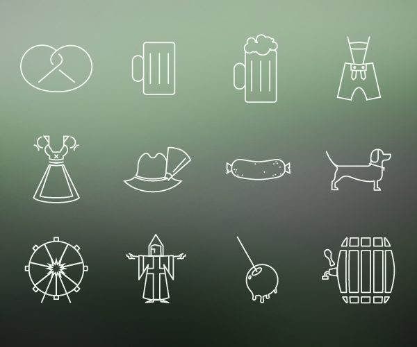 Übersicht der Icons